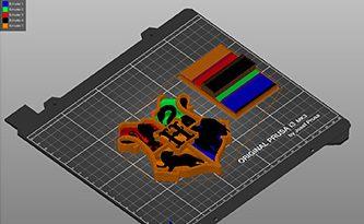 MMU models slicing with PrusaSlicer and Prusa MMU2S