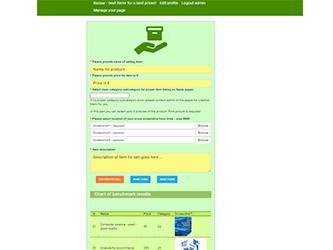Bazaar – php example code – part 4 – Selling item script