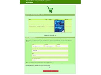 Bazaar – php example code – part 8 – shopping cart of user