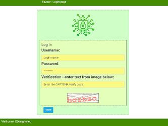 Bazaar – php example code – part 12 – CAPTCHA login hardening