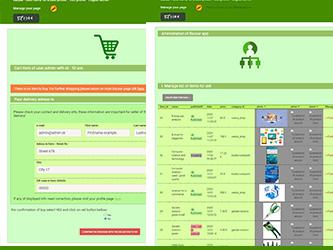Bazaar – php example code – part 14 – handling sold item in database